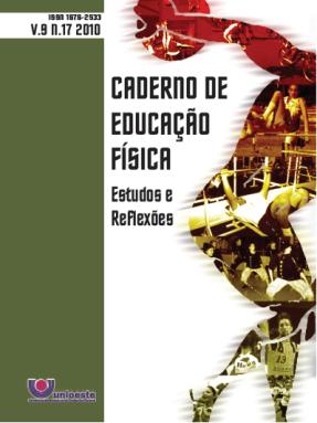 Visualizar V. 9, N. 17, 2010 | Caderno de Educação Física