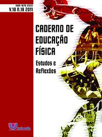 Visualizar V. 10, N. 18, 2011 | Caderno de Educação Física