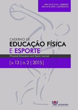 Visualizar v. 13 n. 2 (2015): Caderno de Educação Física e Esporte