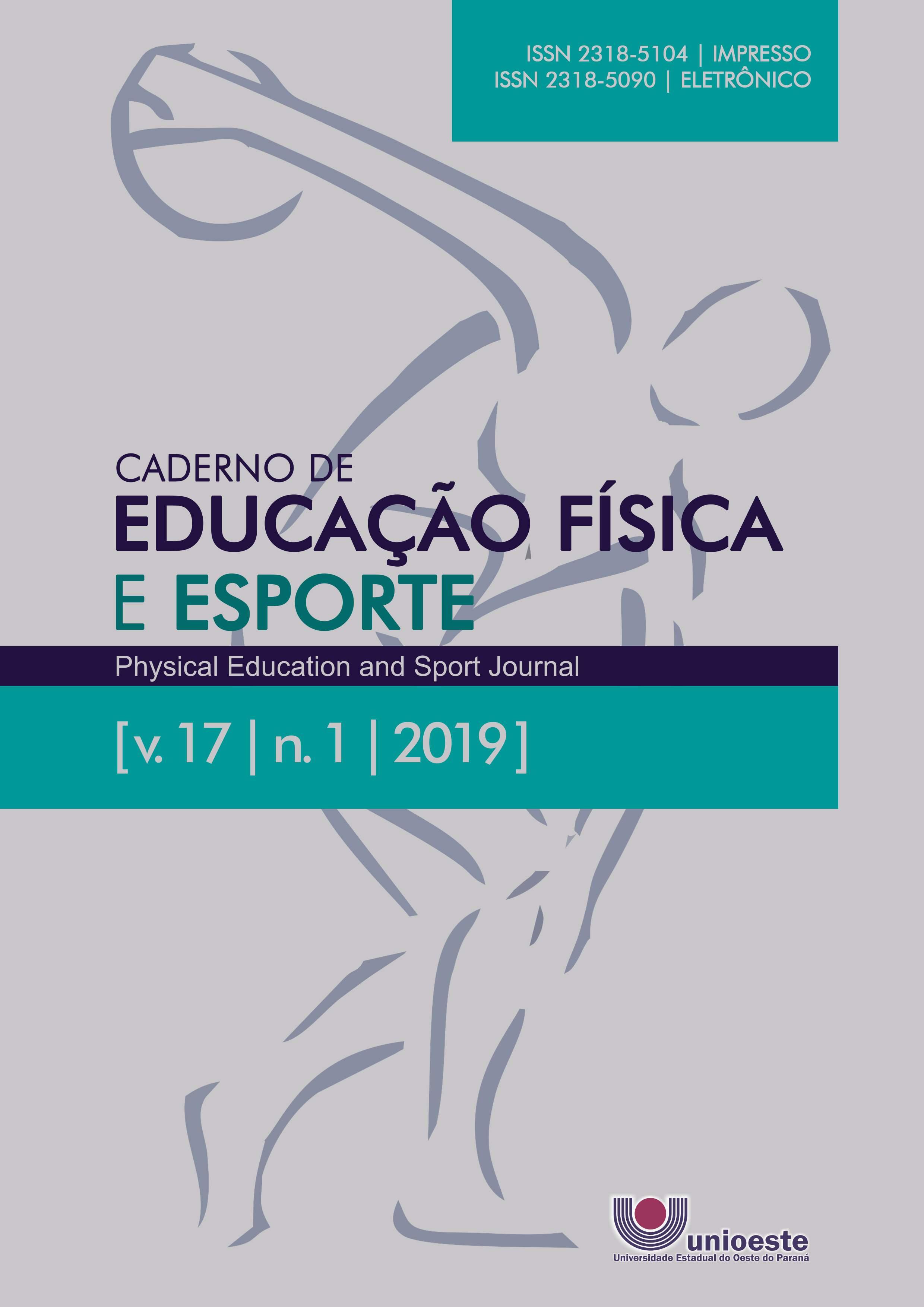 Visualizar v. 17 n. 1 (2019): Caderno de Educação Física e Esporte