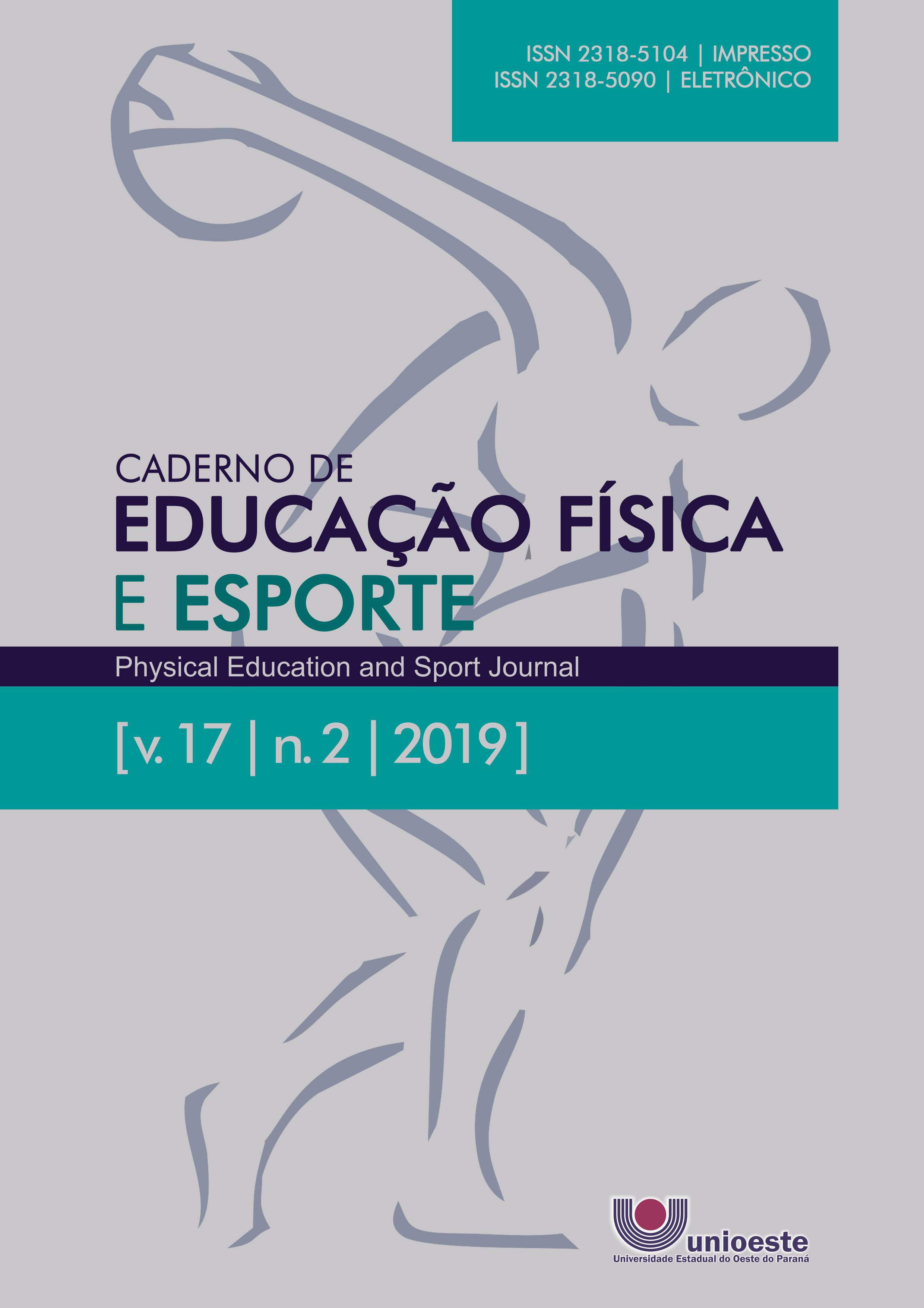 Visualizar v. 17 n. 2 (2019): Caderno de Educação Física e Esporte