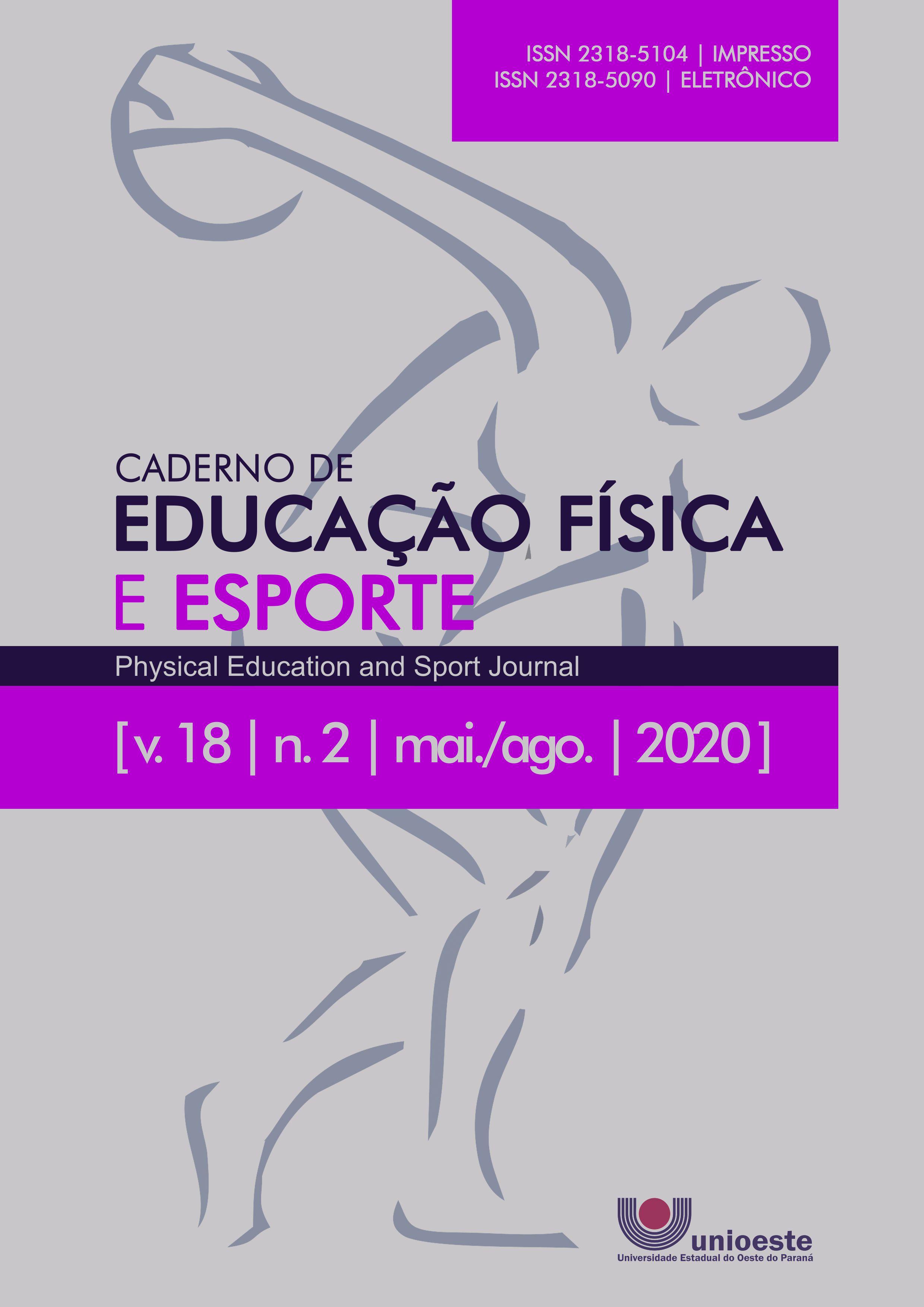 Visualizar v. 18 n. 2 (2020): Caderno de Educação Física e Esporte
