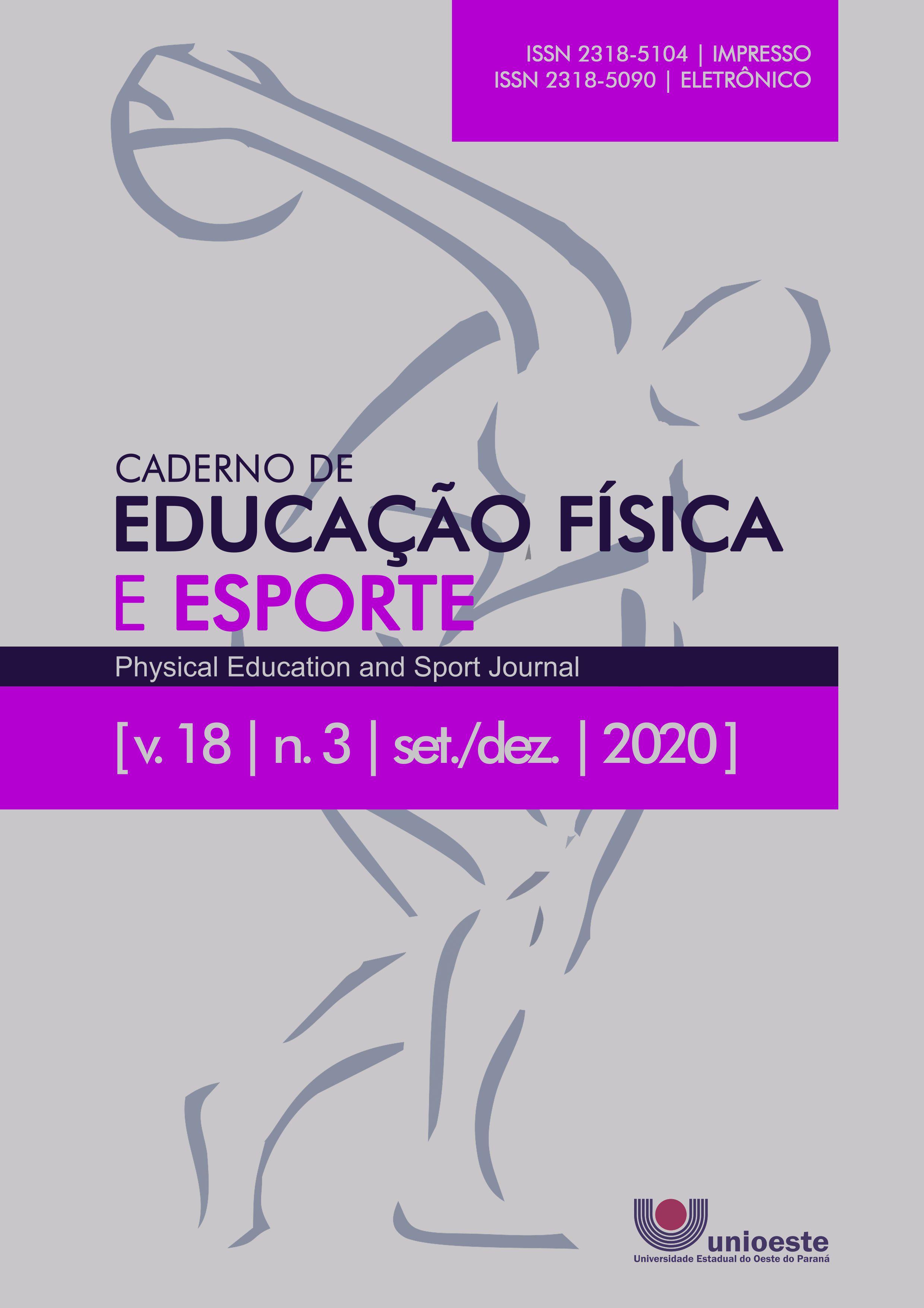 Visualizar v. 18 n. 3 (2020): Caderno de Educação Física e Esporte