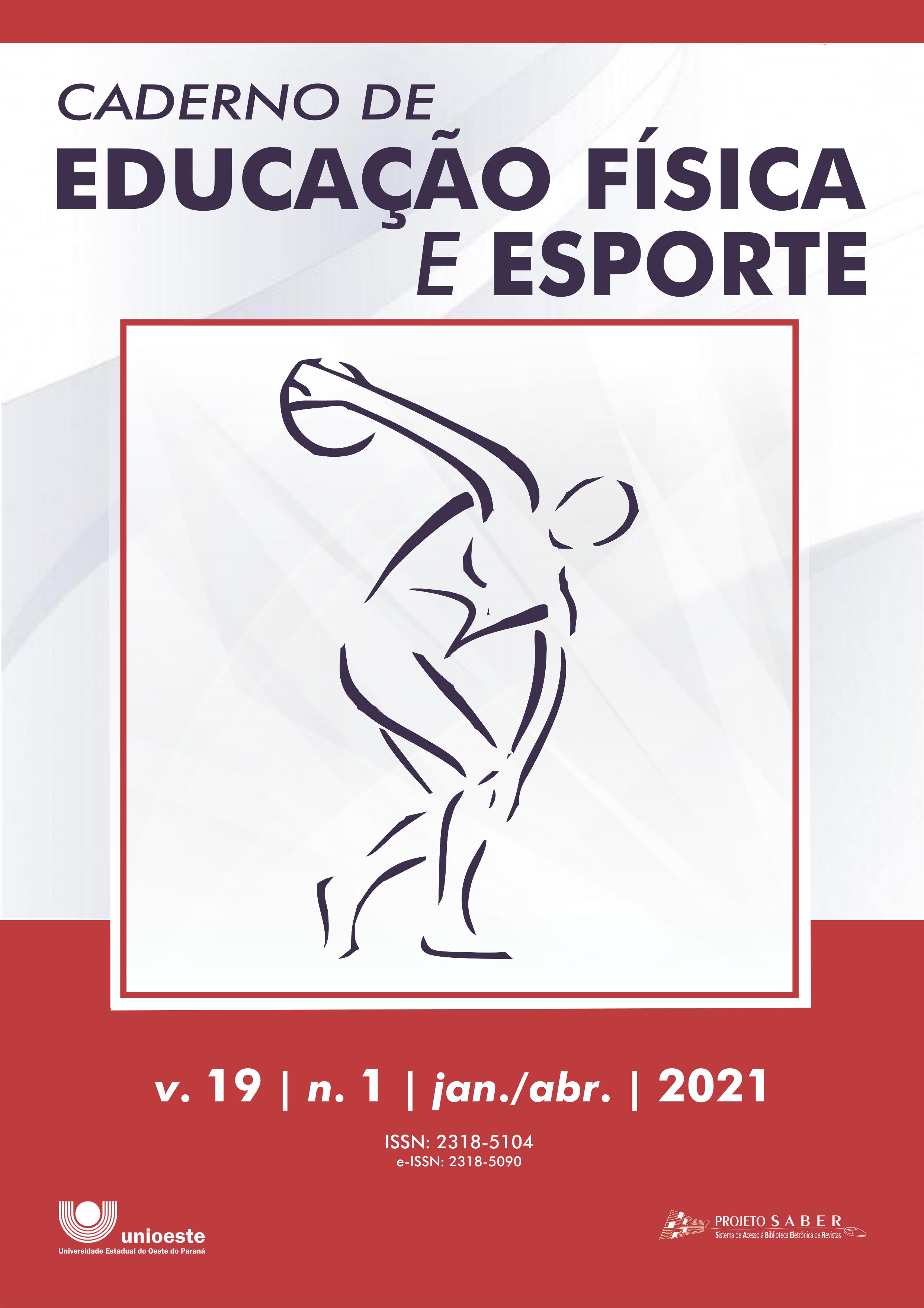 Visualizar v. 19 n. 1 (2021): Caderno de Educação Física e Esporte