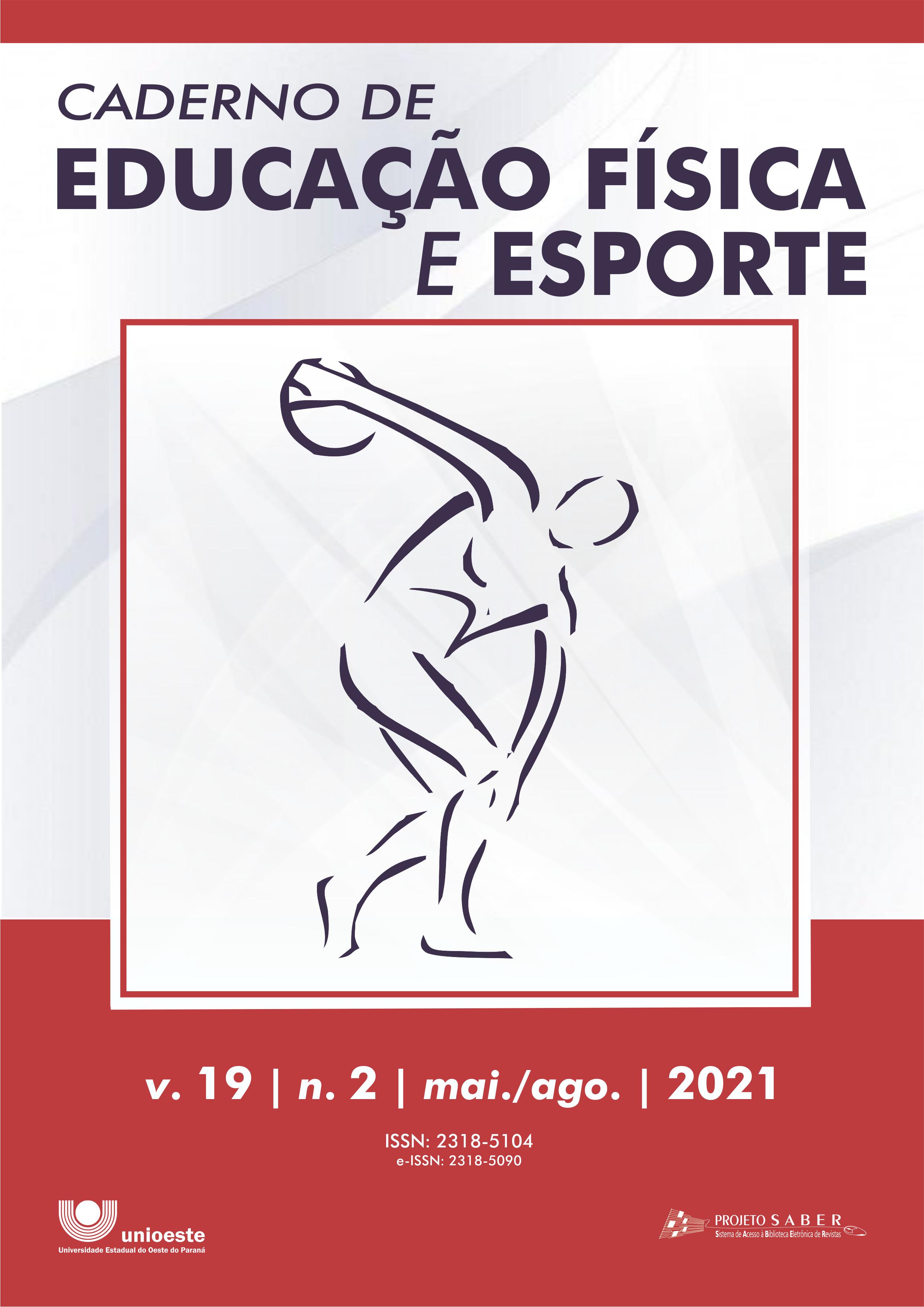 Visualizar v. 19 n. 2 (2021): Caderno de Educação Física e Esporte