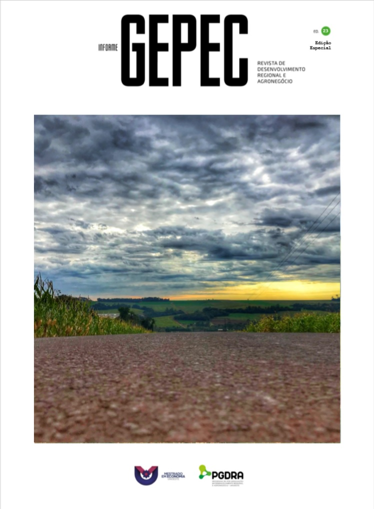 """Visualizar v. 23 (2019): Edição Especial """"Desenvolvimento Territorial e Governança"""""""